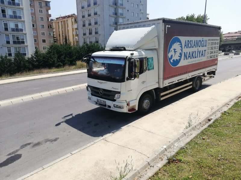 Arslaoğlu Evden Eve Nakliyat Araç Fotoğrafı